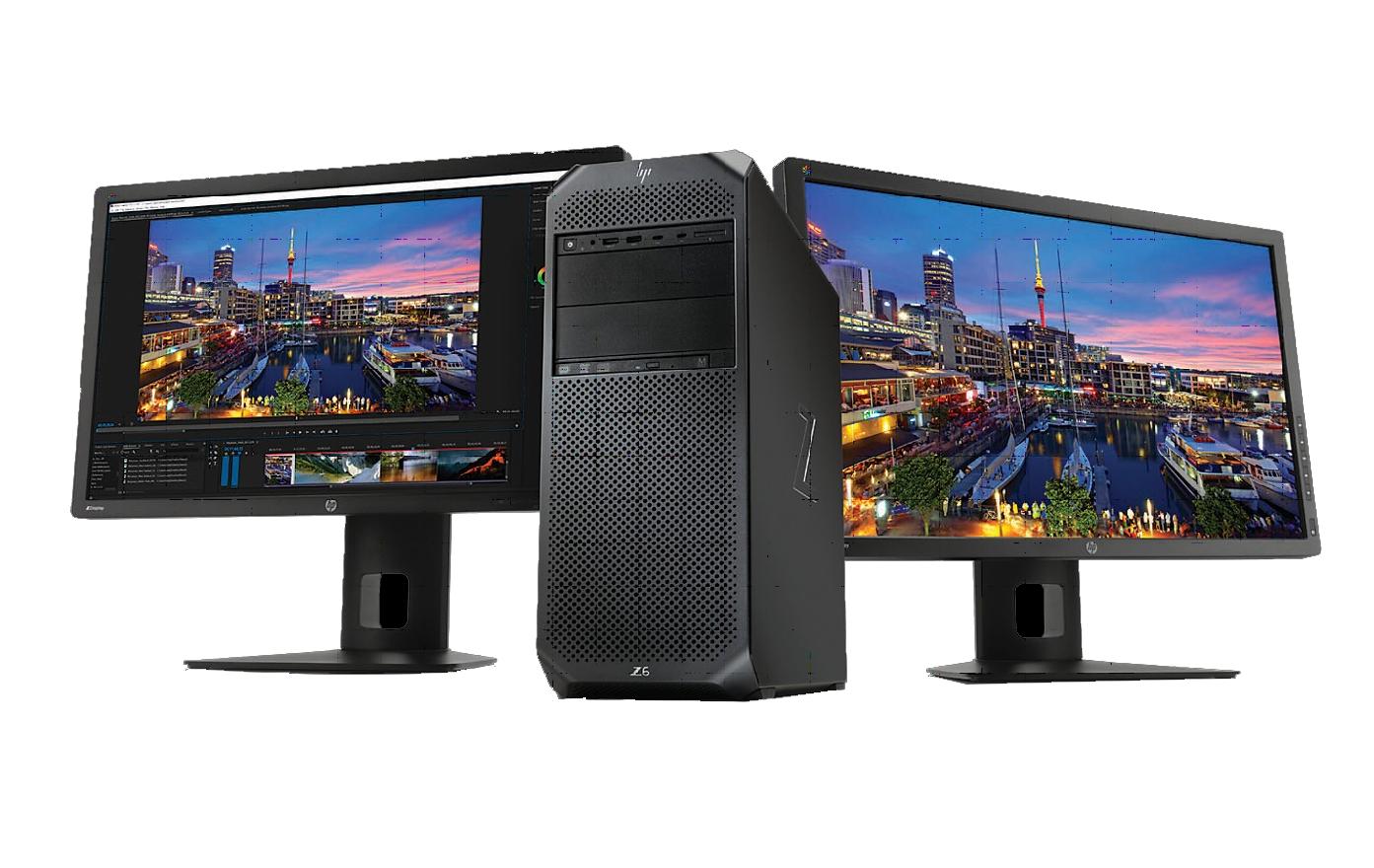 Máy Trạm HP Z6 G4 Xeon 4108